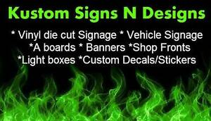 DIY SIGNS  - Digital printed indoor & outdoor signs and posters Hallam Casey Area Preview