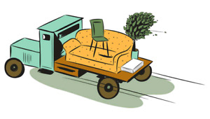 Truck for hire / delivery service
