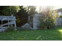 Shed and fence removals