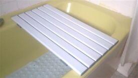 Bath bench / bath board (as new, little used)