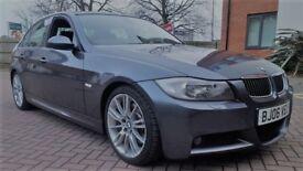06 BMW 330D M SPORT SALOON *I DRIVE NAV MV3 ALLOYS NAPPA LEATHER FSH ETC*NT 120D 123D 325D 335D 535D