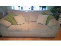Harveys 3 Seater off-white Sofa