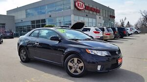2011 Kia Forte 2.0L KOUP EX   ONE OWNER   NO ACCIDENTS  