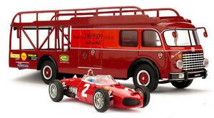 Brumm-TS02-Ferrari-156-1961-Transporter-Set-1-43-Scale