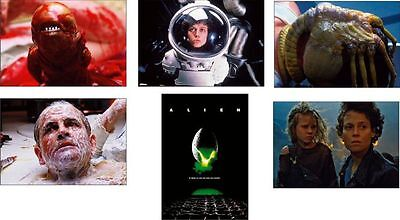Alien Great New Film Scene 6 Postcard Set