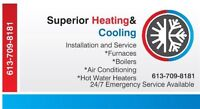 FURNACE AC INSTALLATION & REPAIR *FREE QUOTE*