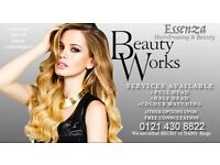 Beauty Works Hair Extensions Celebrity Choice LA Weft Micro & Nano Rings Colour Match Styling Salon