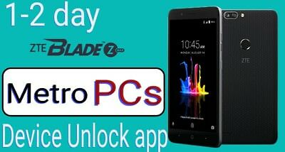 ZTE Metro PCs Device Unlock App ZTE Avid Z833 Z828 Blade Z982 Obsidian Z820 Z981