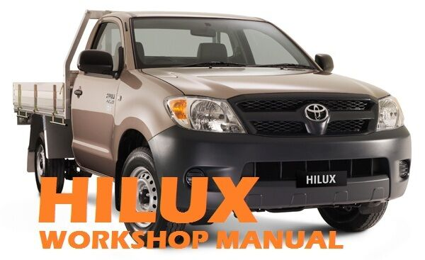 Hilux 2 4p workshop manual
