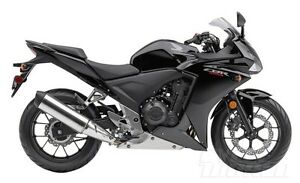 Female driven black CBR500R