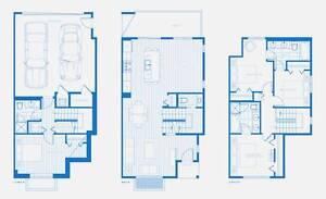BRAND NEW Town House 4 Bed; 3.5Bath @ Morgan Creek, South Surrey
