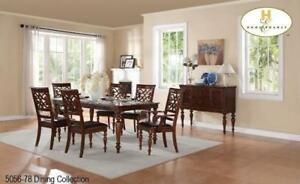 KITCHEN TABLE AND CHAIRS - DINING SETS THAT INSPIRE YOUR HOME (BD-1207)