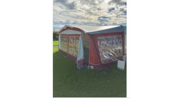 Dorema Caravan Awning size 13 or 950 to 975 cms. | in ...