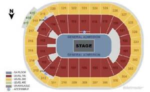 (SAT, NOV, 3) DRAKE CENTER STAGE  (sec 307, row 11) 4 seats