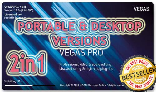 MAGIX SONY VEGAS Pro 17 ❗ New ❗ 2020 ❗ Desktop & Portable 🔑 LifeTime Activated