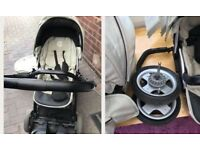 Oyster buggy . Oyster pushchair. Stroller . Pram with extras . Travel system