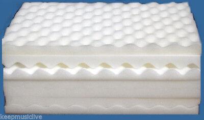 Egg Box Foam Profiled Sheets approx 28cm x 36cm   BRAND NEW  15  QUANTITY PACK