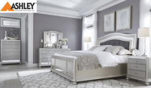 QUEEN SIZE MODERN BEDS BY ASHLEY FROM $288