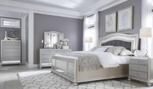 ASHLEY  QUEEN  BED ONLY SALE FROM $288