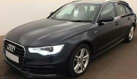 Audi A6 Avant 2.0TDI ( 177ps ) ( C7 ) 2012MY S Line FROM £59 PER WEEK !