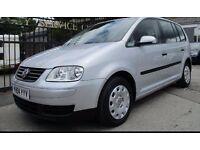 Volkswagen TOURAN | 7 Seater | Low Mileage | Petrol | Manual