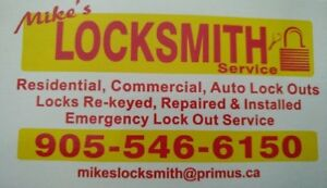 Mike's Locksmith Service 905-546-6150