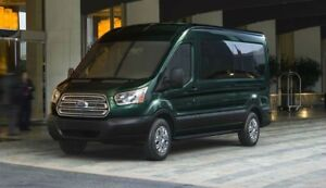 Wanted 2017 or newer Ford Transit 12-15 passenger wagon van