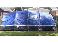 Hi Gear Zenobia 6 family tent + Foot print + carpet