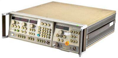 Hpagilent 8350b Digital Sweep Oscillator Mainframe W83525a Generator