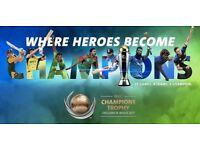 ICC Champions Trophy 2017 - 2 x Platnium - England v New Zealand Tickets