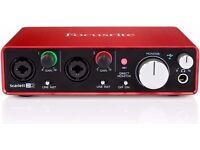 Focusrite 2i2 Audio interface