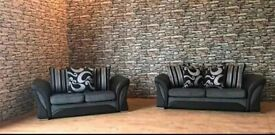 New Luxury Shannon Sofa Available In Both Corner and 3+2 Seater Set!