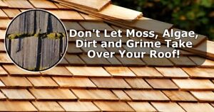 Cedar shake Siding Roofing Cleaning 13% off