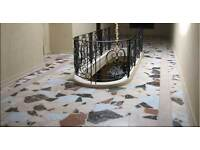 Marble Terrazzo Wooden Floor Polishing and Buffing
