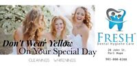 Dental Whitening & Cleanings - Get Ready for Prom & Wedding!