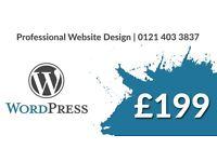 WordPress Websites from £199 - Website Design   eCommerce   SEO   Branding