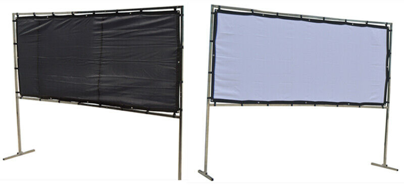 11.48x4.92ft Outdoor Projector Screen for Square Advertisement Home Yard Movies