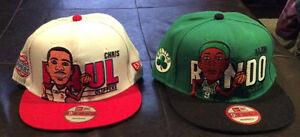 Chris Paul and Rajon Rondo Hats!