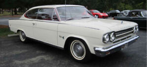 Very Rare 1965 Marlin Rambler Fastback