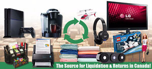 Wholesale - Liquidation & Returns from WM, Amazon, Staples...