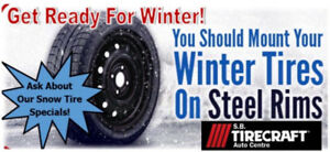 Winter Tire and Rim Sale