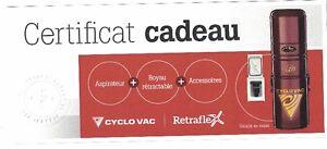 Aspirateur central neuf CycloVac