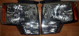 2013 F150 left and right headlight assembly