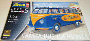Revell Germany 1/24 VW T1 Samba Bus Lufthansa