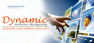 Dynamic Website Designing Services | Specialists in Dynamic webs