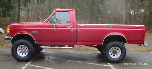 1991 Ford F-350 Custom Pickup Truck