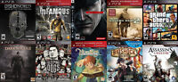 PS3 Games For Sale or Trade - GTA 5, Ni No Kuni, Bioshock, more