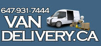 Man & Van = Furniture Pick-up and Delivery $65 FLAT RATE