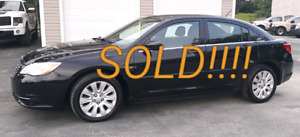SOLD!!!  2013 Chrysler 200
