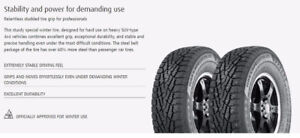 NOKIAN Hakkapeliita studded winter tires (245 R75 16) - rims too